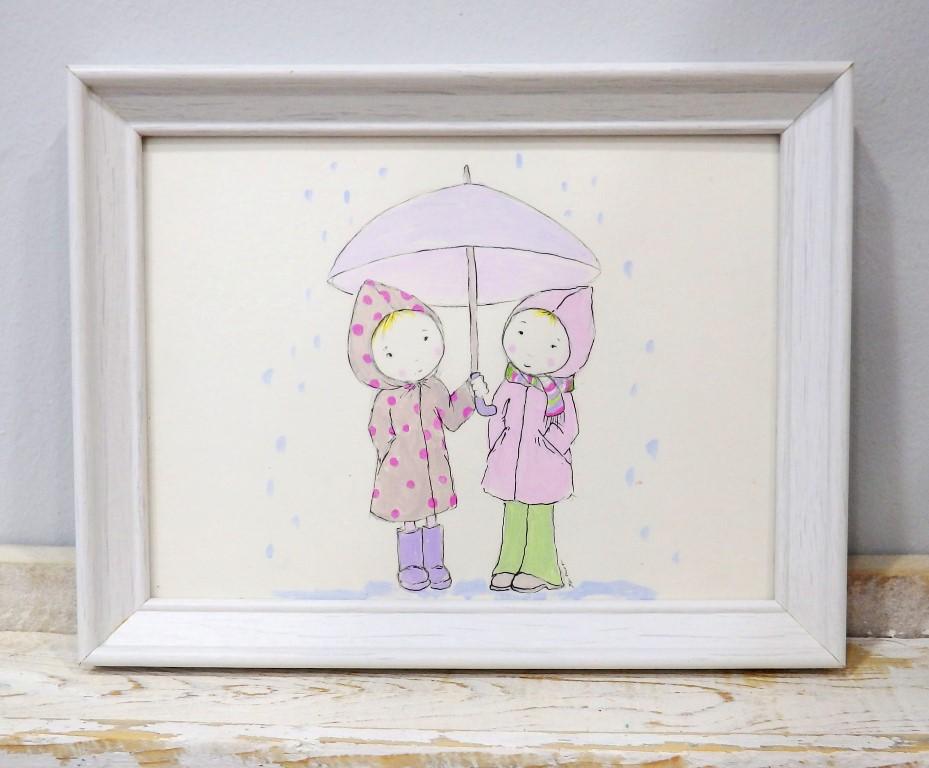 Παιδικό καδράκι βροχούλα DPK099