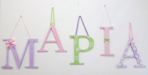Ζωγραφιστά γράμματα για τον τοίχο - ZG068