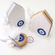 Παιδικές μπομπονιέρες Σπιτάκι & γιογιό Μάτι  – PB066