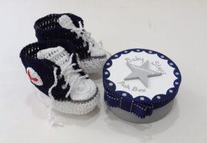 Δωράκι για νεογέννητα Σταράκια σε κουτάκι- BP070