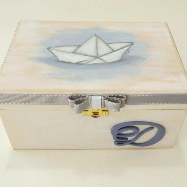 Ζωγραφιστό κουτί Καραβάκι DZK052