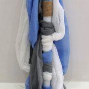 Λαμπάδα βάπτισης Ξύλινο Καραβάκι  VL004-82