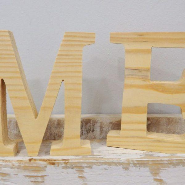 Ξύλινα γράμματα 12 εκ. -ZG077