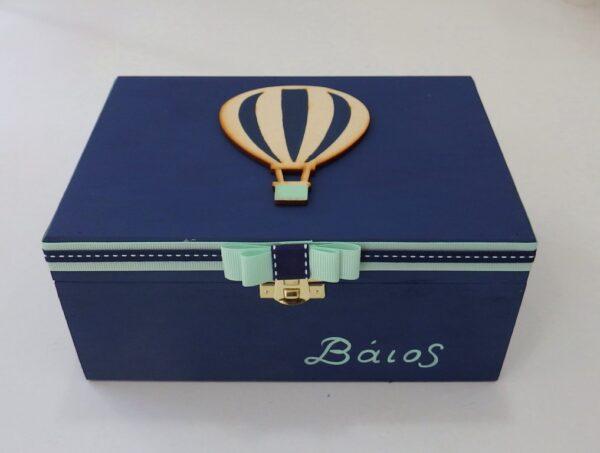 Ζωγραφιστό κουτί αερόστατο - DZK055