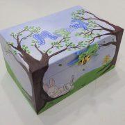 Ζωγραφιστό κουτί κουνελάκι – DZK056