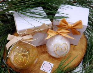 Χειροποίητα Χριστουγεννιάτικα δώρα για ζευγάρια CG079