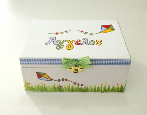 Ζωγραφιστό κουτί χαρταετός - DZK058