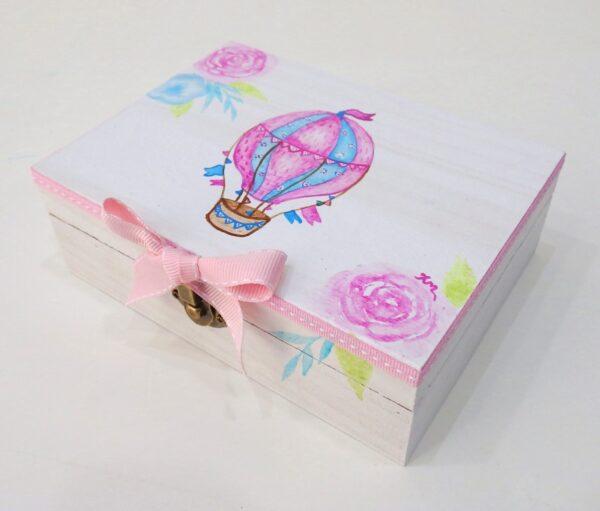Κουτί μαρτυρικών Αερόστατο για κορίτσι VL003-41