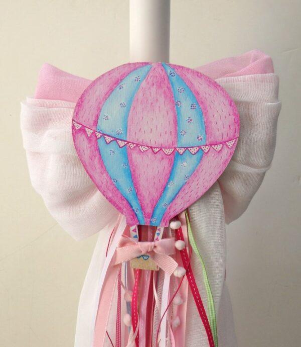 Βαπτιστικό πακέτο αερόστατο για κορίτσι - VS115