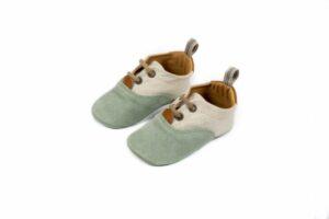 Βαπτιστικά παπουτσάκια αγκαλιάς για αγόρι 1082