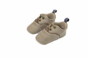 Βαπτιστικά παπουτσάκια αγκαλιάς για αγόρι 1093