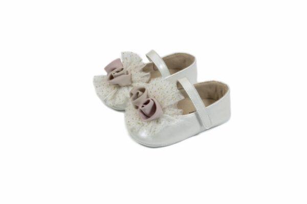 Βαπτιστικά παπουτσάκια αγκαλιάς για κορίτσι 1600