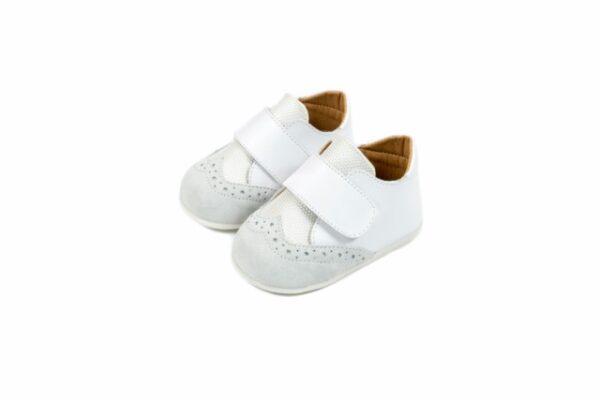 Βαπτιστικά παπουτσάκια για αγόρι - πρώτα βήματα 2056
