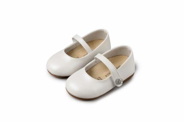 Βαπτιστικά παπουτσάκια περπατήματος για κορίτσι 3502