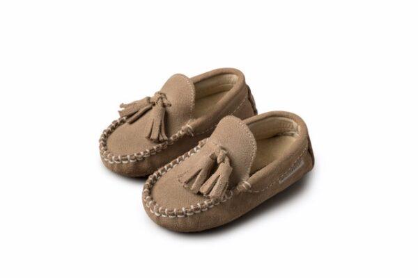 Βαπτιστικά παπουτσάκια περπατήματος για αγόρι 4011
