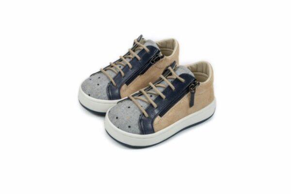 Βαπτιστικά παπουτσάκια περπατήματος για αγόρι 5200