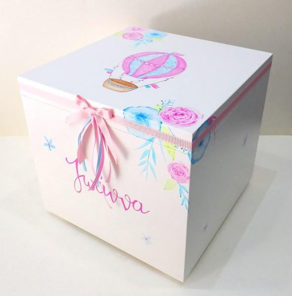 Κουτί παιχνιδιών αερόστατο για κορίτσι
