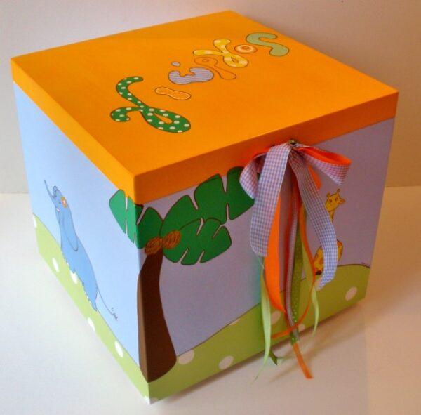 Κουτί παιχνιδιών καμηλοπάρδαλη