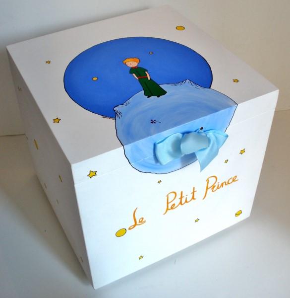 Κουτί παιχνιδιών μικρός πρίγκιπας πλανήτης