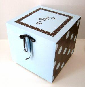 Κουτί παιχνιδιών μονόγραμμα