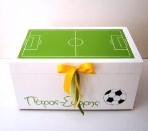 Κουτί παιχνιδιών ποδόσφαιρο