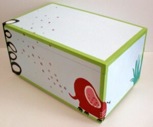 Κουτί παιχνιδιών ζούγκλα