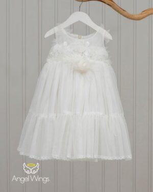 Βαπτιστικό φόρεμα Nymph 055 off white