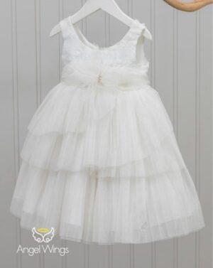 Βαπτιστικό φόρεμα Paeonia 147 off white