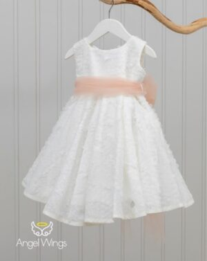 Βαπτιστικό φόρεμα Kelly 150120 Σάπιο μήλο