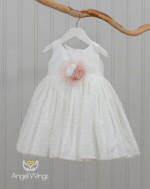 Βαπτιστικό φόρεμα Ginger 155 off white