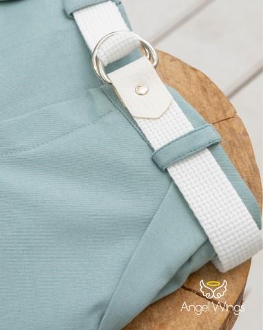 Βαπτιστικά ρούχα για αγόρι Charlie 165 Γκρι Μέντα