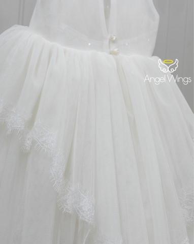 Βαπτιστικό φόρεμα Cecilia 180 off white