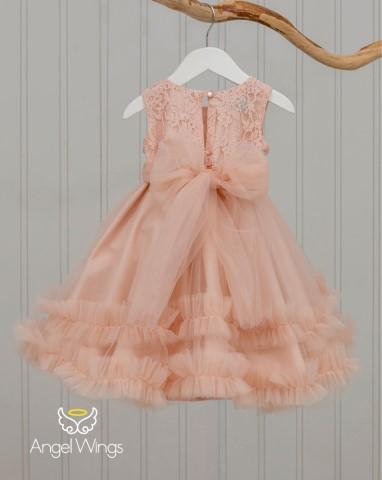 Βαπτιστικό φόρεμα Ennie 210120 Σάπιο μήλο