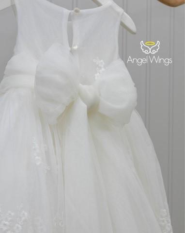 Βαπτιστικό φόρεμα Emma 220 off white