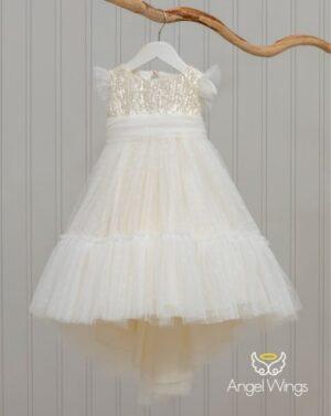 Βαπτιστικό φόρεμα Kathy 227 εκρού
