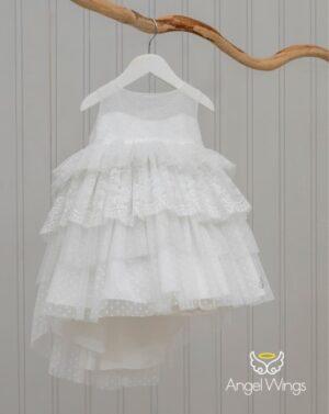 Βαπτιστικό φόρεμα Barbie 231 off white