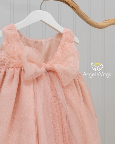 Βαπτιστικό φόρεμα Rosa 233 ροζ