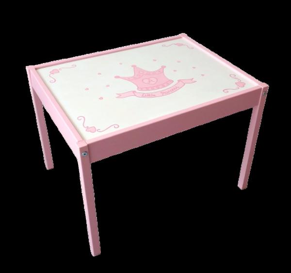 Παιδικό καρεκλάκι και τραπεζάκι Κορώνα Ροζ