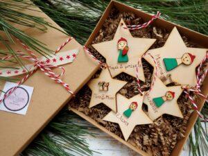 Χριστουγεννιάτικα αστεράκια στολίδια για όλη την οικογένεια
