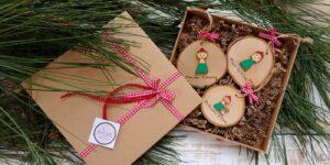 3. Χριστουγεννιάτικοι κορμοί στολίδια για όλη την οικογένεια